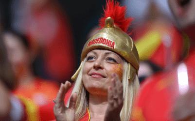 Η κρατική τηλεόραση της Βόρειας Μακεδονίας αποκαλεί την εθνική ποδοσφαίρου «Μακεδονία»