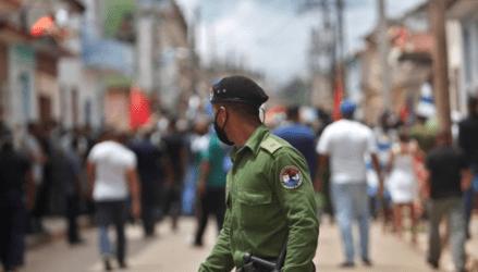Κούβα: «Ελευθερία!» – «Κάτω η δικτατορία!»