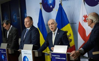 Μολδαβία, Γεωργία και Ουκρανία επιδιώκουν ένταξη στην Ευρωπαϊκή Ένωση