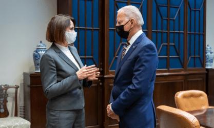 Λευκός Οίκος: Συνάντηση Μπάιντεν – Τιχανούσκαγια