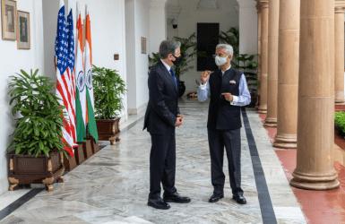 Μπλίνκεν από το Νέο Δελχί: Οι σχέσεις μεταξύ των δύο χωρών μας είναι από τις σημαντικότερες παγκοσμίως