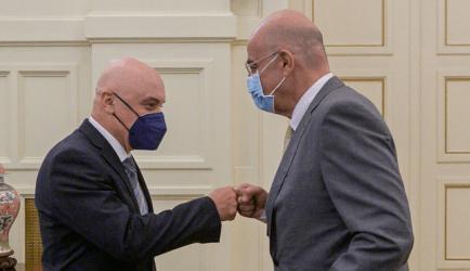 Συνάντηση του Υπουργού Εξωτερικών με τον Πρέσβη της Γεωργίας