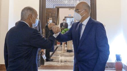 Συνάντηση του Υπουργού Εξωτερικών με Γ.Γ Αραβικού Συνδέσμου