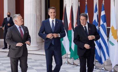 Πρωθυπουργός από την Τριμερή Ελλάδας – Κύπρου – Ιορδανίας: Είμαστε αποφασισμένοι να διευρύνουμε την εταιρική μας σχέση στον τομέα της Ασφάλειας