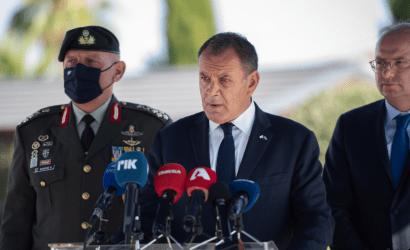 Υπουργός Άμυνας: Η Ελλάδα βρισκόταν, βρίσκεται και θα βρίσκεται πάντα στο πλευρό της Κύπρου