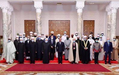 Συνάντηση των Μουφτήδων Θράκης με τον Πρόεδρο της Αιγύπτου
