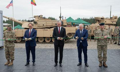 Λιθουανία: Οι Αμερικανικές δυνάμεις δημιουργούν στρατόπεδο λίγα χιλιόμετρα από τα σύνορα με την Λευκορωσία