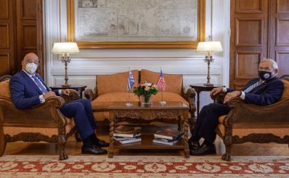 Νίκος Δένδιας: Ο Γερουσιαστής Μενέντεζ συμβάλλει με τον πιο καθοριστικό τρόπο στην ενίσχυση της στρατηγικής σχέσης των ΗΠΑ και της Ελλάδας