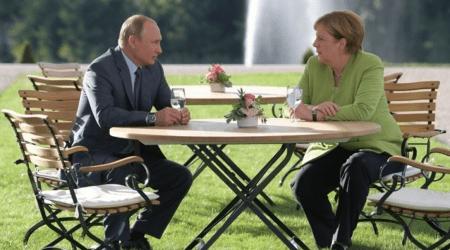 Ξεκίνησαν οι συνομιλίες Μέρκελ-Πούτιν στην Μόσχα