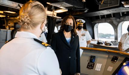 Aμερικανίδα Aντιπρόεδρος: Η Κίνα συνεχίζει να ασκεί πιέσεις, να εκφοβίζει και να προβάλλει διεκδικήσεις σε πρακτικά όλη τη Νότια Σινική Θάλασσα