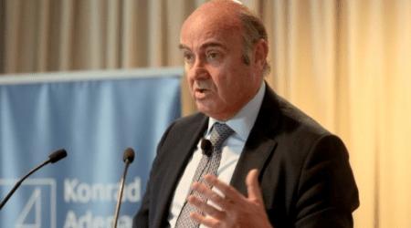 Λουίς ντε Γκίντος: Η οικονομία της ευρωζώνης αναπτύσσεται ταχύτερα από τις προβλέψεις