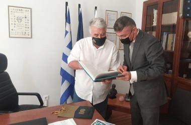 Στα Ιωάννινα ο Πρέσβης του Αζερμπαϊτζάν – Συνάντηση με τον Δημάρχο Μωυσή Ελισάφ