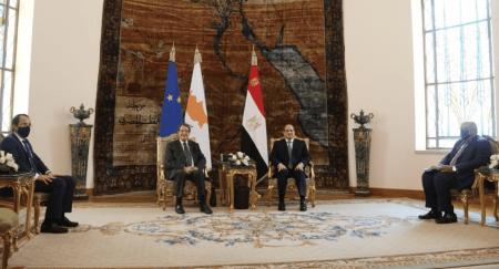 Πρόεδρος της Αιγύπτου Αλ Σίσι: Πάγια στήριξη της Αιγύπτου στη Λευκωσία στο θέμα του Κυπριακού