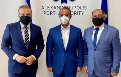 Στο Λιμάνι της Αλεξανδρούπολης ο Υπουργός Οικονομικών – Μήνυμα στους επενδυτές λίγες ημέρες πριν εκπνεύσει η ημερομηνία κατάθεσης των δεσμευτικών προσφορών