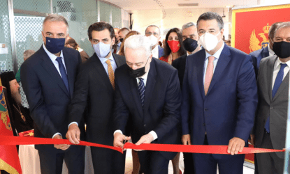 Θεσσαλονίκη: Εγκαίνια προξενείου του Μαυροβουνίου από τον πρωθυπουργό της χώρας, Ζντράβκο Κριβοκάπιτς