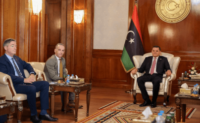 Στη Λιβύη ο Γερμανός ΥΠΕΞ – Έπειτα από 7 χρόνια ξανανοίγει η Γερμανική πρεσβεία στην Τρίπολη
