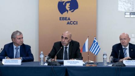 Γιάννης Μπρατάκος: Δημιουργούνται εξαιρετικές προοπτικές συνεργασίας μεταξύ των επιχειρήσεων Αθήνας και Μόσχας