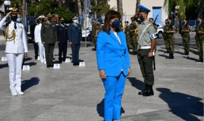 Η Πρόεδρος της Δημοκρατίας στο Ναύπλιο για τις τιμητικές εκδηλώσεις για τον Ι. Καποδίστρια