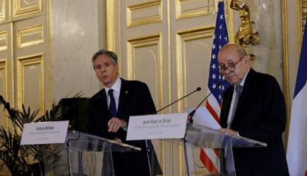 Λε Ντριάν σε Μπλίνκεν: Η έξοδος από την κρίση θα πάρει «χρόνο» και προϋποθέτει «πράξεις»