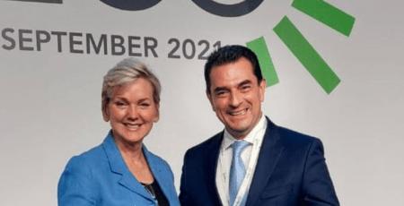 Υπουργός Ενέργειας των ΗΠΑ: Κομβικός ο ρόλος που διαδραματίζει η Ελλάδα για τη διαφοροποίηση πηγών και οδεύσεων φυσικού αερίου στην ευρύτερη περιοχή της Νοτιοανατολικής Ευρώπης