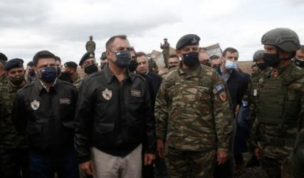 Υπουργός Άμυνας από την «Παρμενίων»: Καταδεικνύεται το αποτρεπτικό αποτύπωμα των Ενόπλων Δυνάμεων