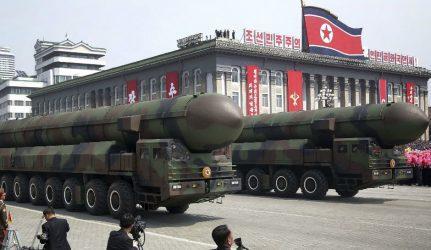 Η Βόρεια Κορέα πραγματοποίησε δοκιμή βαλλιστικών πυραύλων