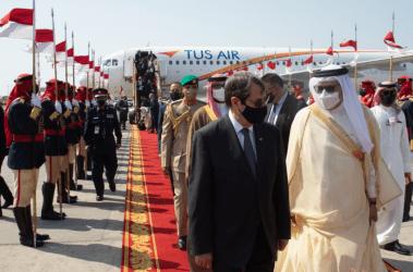 Eπίσημη επίσκεψη Αναστασιάδη στο Μπαχρέιν