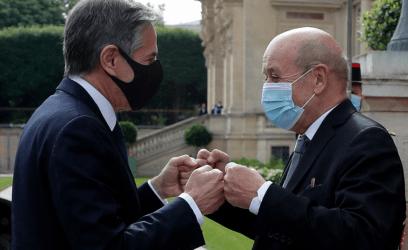 Οι ΥΠΕΞ Γαλλίας και ΗΠΑ αναμένεται να «ανταλλάξουν απόψεις»