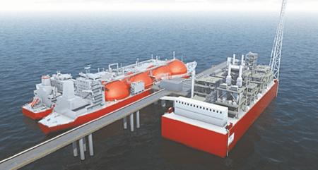 Την πρώτη πλωτή δεξαμενή αποθήκευσης αερίου απέκτησε ο σταθμός FSRU στην Αλεξανδρούπολη