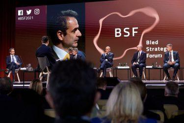 Πρωθυπουργός από το Bled Strategic Forum 2021: Να προστατεύσουμε τα σύνορά μας, κάτι που πρέπει να κάνουμε πειθαρχημένα