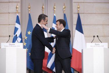 Πρωθυπουργός: Ελλάδα και Γαλλία κάνουν ένα πρώτο τολμηρό βήμα προς την ευρωπαϊκή στρατηγική αυτονομία