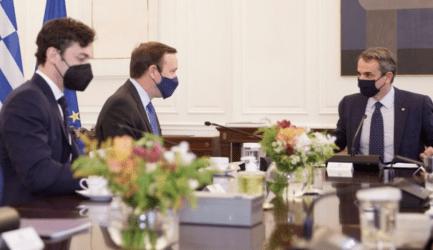 Πρωθυπουργός σε Αμερικανούς Γερουσιαστές: Η Ελλάδα πυλώνας σταθερότητας και ασφάλειας στην ευρύτερη περιοχή της Ανατολικής Μεσογείου