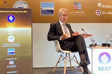 Τζέφρι Πάιατ: «Αντίβαρο» του Nord Stream 2 τα έργα FSRU (Αλεξανδρούπολη) και TAP