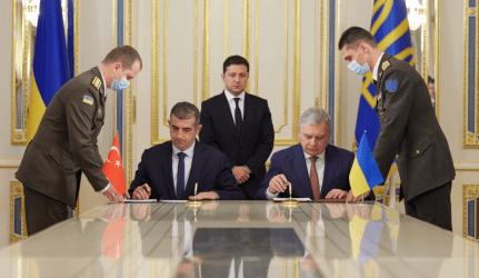Ουκρανία και Τουρκία υπέγραψαν Μνημόνιο για την κατασκευή κοινού κέντρου εκπαίδευσης και δοκιμών για τη λειτουργία των drones