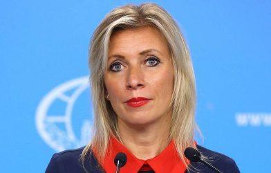 Μαρία Ζαχάροβα: Δέχομαι απειλές από υποστηρικτές του Ναβάλνι