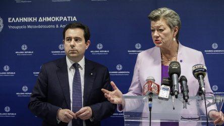 Απάντηση του Νότη Μηταράκη στην Επίτροπος Εσωτερικών Υποθέσεων της ΕΕ για αναφορές σχετικά με παράνομες επαναπροωθήσεις