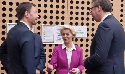 Ούρσουλα φον ντερ Λάιεν στις χώρες των Δυτικών Βαλκανίων: Σας θέλουμε στην ΕΕ