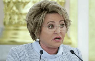 Πρόεδρος της Ρωσικής Άνω Βουλής: Οι ΗΠΑ δεν πούλησαν αέριο στην Ευρώπη γιατί άλλες χώρες τους πρόσφεραν ανώτερη τιμή