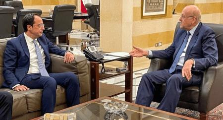 Υπουργός Εξωτερικών Κύπρου: Η Κύπρος στηρίζει την κυριαρχία του Λιβάνου