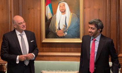 Ουάσιγκτον: Συνάντηση Νίκου Δένδια με τον Υπουργό Εξωτερικών των ΗΑΕ