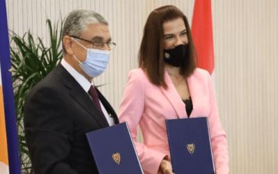 Υπεγράφη το μνημόνιο διασύνδεσης των δικτύων ηλεκτρισμού Κύπρου και Αιγύπτου