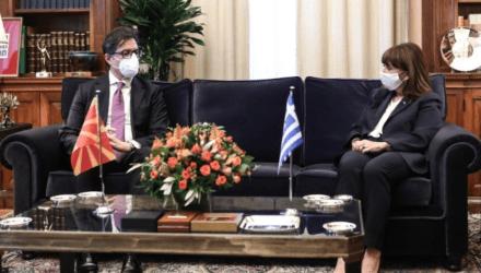 Πρόεδρος της Δημοκρατίας: Η συνεπής εφαρμογή της Συμφωνίας των Πρεσπών κρίσιμη για τις διμερείς σχέσεις με τη Βόρεια Μακεδονία
