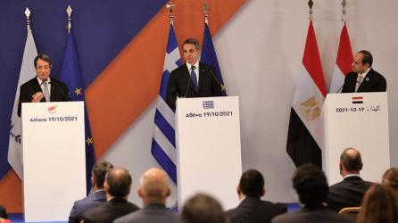 9η Τριμερής Σύνοδος Κορυφής Ελλάδας-Κύπρου-Αιγύπτου: Οι πλήρεις δηλώσεις των τριών ηγετών