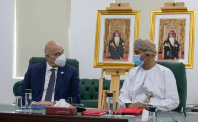 Dendias holds series of meetings in Oman