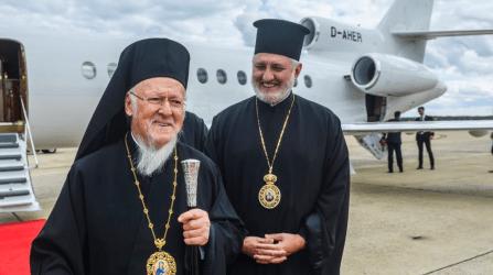 Έφτασε στις ΗΠΑ ο Οικουμενικός Πατριάρχης