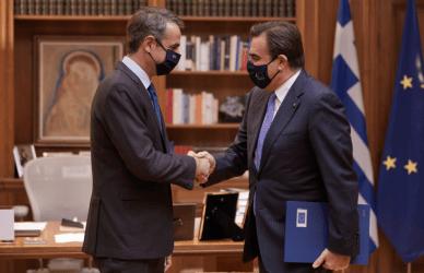 Πρωθυπουργός στον Αντιπρόεδρο της Ευρωπαϊκής Επιτροπής: Να αγοράσουμε φυσικό αέριο ως ΕΕ, όπως έγινε με τα εμβόλια
